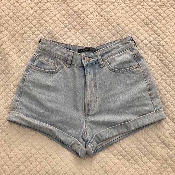 4248d1799d Bershka Shorts   Highwaisted Denim   Poshmark